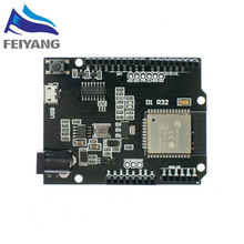 10PCS ESP32 עבור Wemos D1 מיני עבור Arduino UNO R3 D1 R32 WIFI אלחוטי Bluetooth פיתוח לוח CH340 4M זיכרון אחד