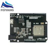 10PCS ESP32 สำหรับWemos D1 MiniสำหรับArduino UNO R3 D1 R32 WIFIไร้สายบลูทูธDevelopment Board CH340 4Mหน่วยความจำOne