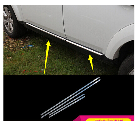 Voor Land Rover LR4 Discovery 4 Body Side Panel Deur Molding Cover Trim 2010 2011 2012 2013 2014 2015