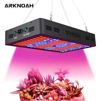 ARKNOAH 1800W LED Growing Lights Full Spectrum Double Chip 10W High Power for Indoor Plant Greenhouse Veg Bloom Switches Phyto