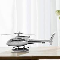 Hot Solar Decoration Aromatherapy Helicopter Interior Accessories Gifts Zinc Alloy Automotive Figure Sunproof Supplies Car Ornam
