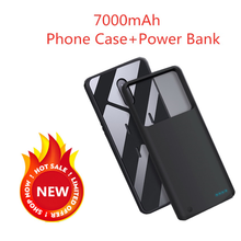 NTSPACE 7000mAh Power Bank Charging Cover For Oneplus 7 External Battery Case Battery Charger Cases For Oneplus 7 Pro Power Case