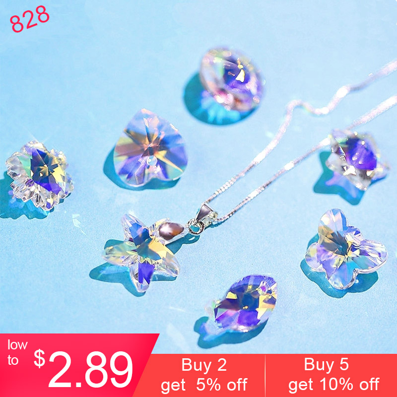 Charms Earrings Pendant Necklaces Crystal-Beads Jewelry-Making 14mm Gems DIY for Best-Quality