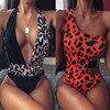 Leopard High Waist Swimsuit 2