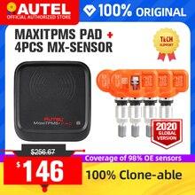 4pcs Autel MX 센서 433MHz 315MHz MX 센서 범용 타이어 압력 프로그래밍 TPMS 센서 지원 Autel TS601 패드 TPMS 도구