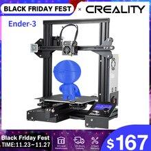 CREALITY 3D Printer Ender 3/Ender 3X Upgraded Tempered Glass Optional,V slot Resume Power Failure Printing KIT Hotbed