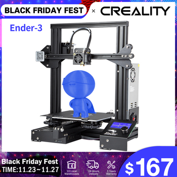 CREALITY 3D Printer Ender-3/Ender-3X Upgraded Tempered Glass Optional,V-slot Resume Power Failure Printing KIT Hotbed creality ender 3 ender 3 pro 3d printer economic ender diy kits with resume printing function 220x220x250mm shipping from moscow