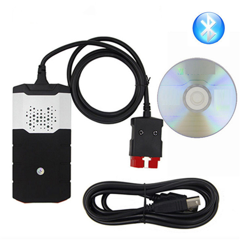 OBD2 Diagnostic Repair Tool For Delphi DS150E 2015R3 TCS CDP Pro Plus 2016.R0 With Keygen LED 3 In 1 Scanner For Cars Trucks