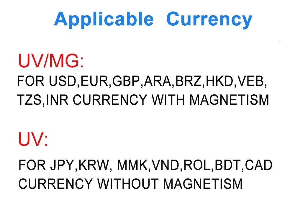& moedas do polímero com o detector