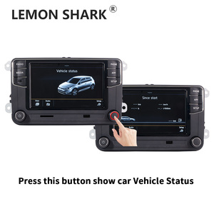 Image 2 - Mib車ラジオcarplay mirrorlink新RCD330 RCD360C 187B 280D 280Eラジオ車両の状態表示のみvw mqbポロ6C車