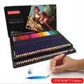 Lápices profesionales solubles en agua de colores de madera 12 24 36 48 72 colores núcleo suave Premium para dibujo escolar materiales para dibujo y Bellas Artes