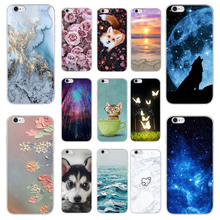 FOR Samsung Galaxy J3 6 2016 J320 J320F Silicone Case Back Cover 5 0 Coque Clear