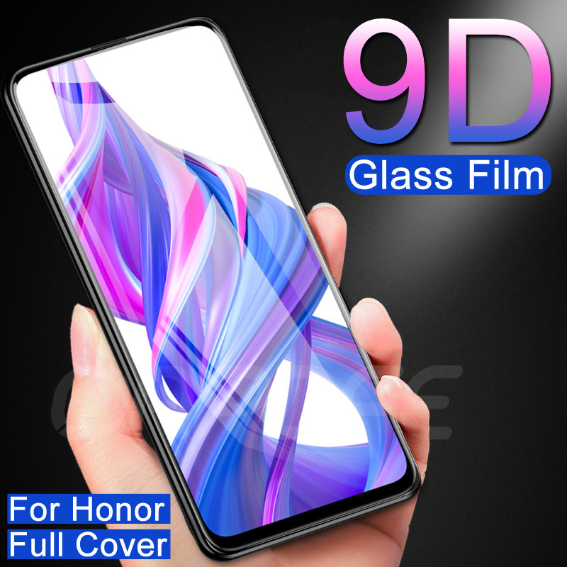 Full Cover Protective Glass On The For Huawei Honor 9X 8X 8A 8C 8S 20 Lite V20 9i 10i 20i Tempered Screen Protector Glass Film
