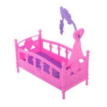 Качалка-колыбель, кровать, кукольный дом, игрушка, мебель для Келли, кукла Барби, аксессуары, игрушки для девочек, подарок, детский душ, подарок, игрушка для девочек