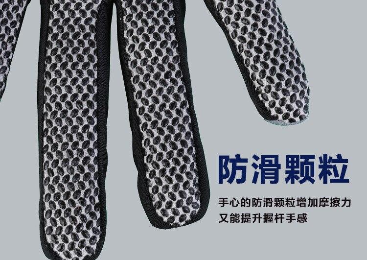 Luvas de golfe de couro macio masculino