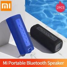 Xiaomi Mi-Altavoz Bluetooth portátil para exteriores, 16W, conexión TWS, sonido de alta calidad IPX7, resistente al agua, 13 horas de reproducción