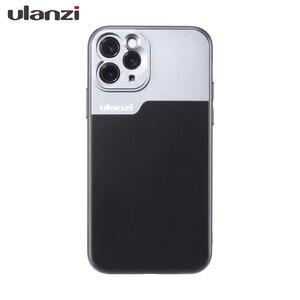 Image 2 - 울란지 17MM 폰 렌즈 폰 케이스, iPhone 11/11 Pro/11 Pro Max 아나모픽 렌즈, 17MM 순간 렌즈 용 Ulanzi DOF 렌즈 어댑터