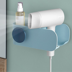 Image 4 - Original Xiaomi Mijia MIJOY Hair Dryer Rack Wall Mount Hair Dryer Holder Hair Dryer Rack Comb Shaver Hold Shelf