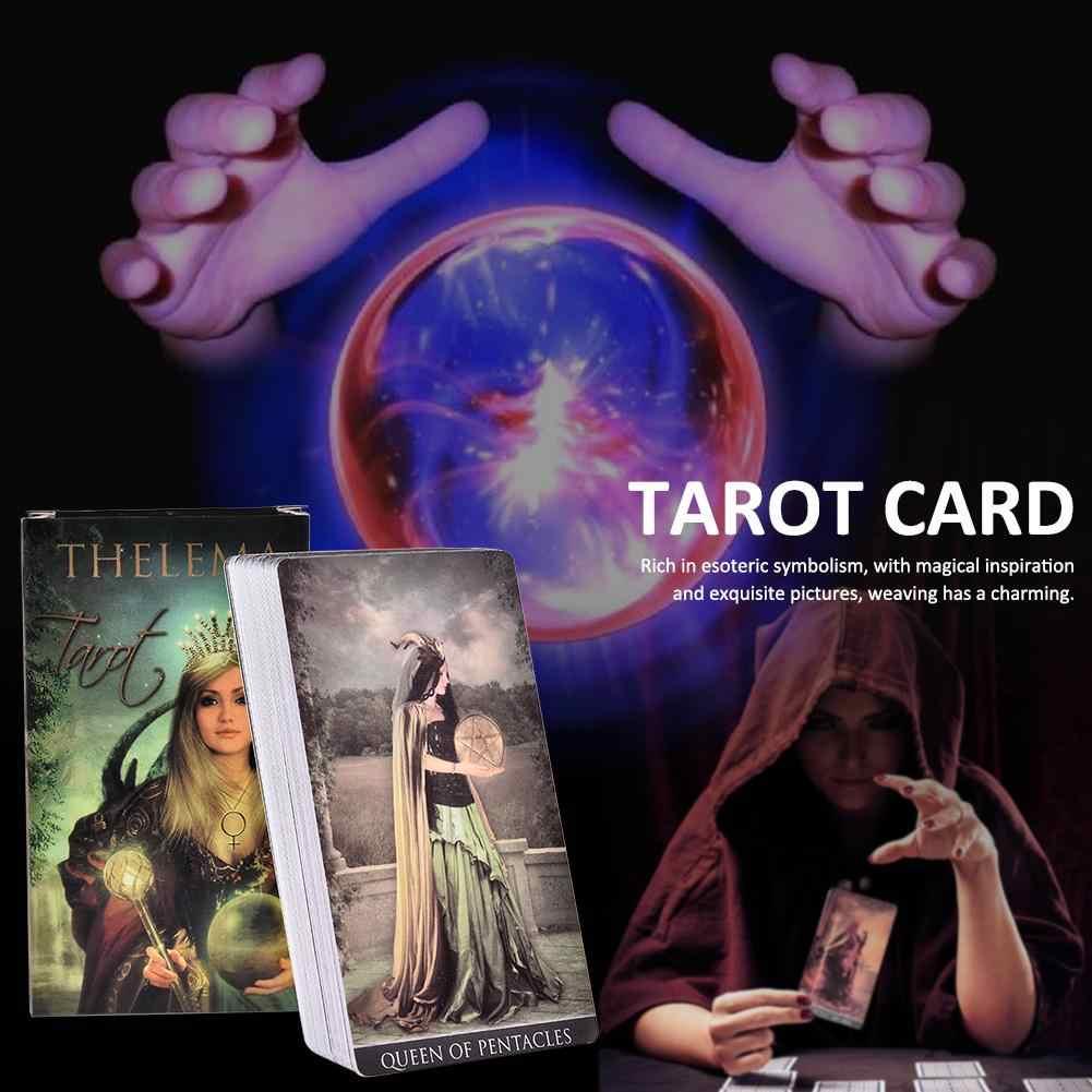 78 Thelema Tarot Tarot Tarot Kaarten Voor Beginners Bordspel Kaarten Oude Mythologie Kaarten Familie Party Beste Keuze Dek Spel