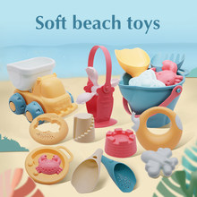 Brinquedos de praia para crianças, 5-17 peças, bebê, praia, jogo, brinquedos, crianças, conjunto de caixa de areia, brinquedos de verão para praia jogo de água de areia