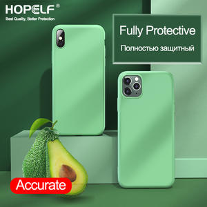 Luxury Silicone Case For iPhone 7 8 6S 6 Plus 11 Pro X XS MAX XR Case on Apple iPhone