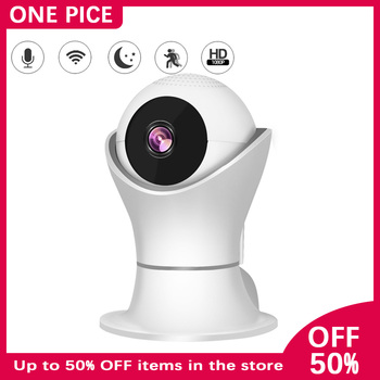 ONE PICE Ip Camera 1080P HD IR Night Vision Two-way Voice White Security Camera Motion Detection Multifunction Baby Monitor A10 babykam ip camera monitor ir night vision 2 way talk pir motion detection alarm wifi camera monitors for ios android max 32g