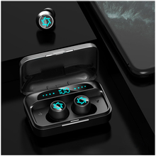 Wireless Headphone Touch-Control Waterproof Earbuds Bluetooth V5.0 Sports Led-Display