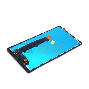 "Image 5 - ل Xiao mi mi mi x شاشة الكريستال السائل ل Xiao mi mi mi x اللمس قطع غيار للشاشة محول الأرقام الجمعية مع الإطار إصلاح قطع الغيار 6.4"""