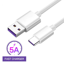 1M/2M Fast Charging USB C Cable 5A Super Charger Cable USB Type C For Mobile Phone