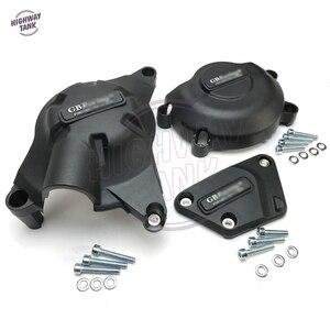 Image 3 - אופנועים מנוע כיסוי מגן מים משאבת מכסה מקרה עבור GB מירוץ עבור ימאהה YZF600 R6 2006 2020