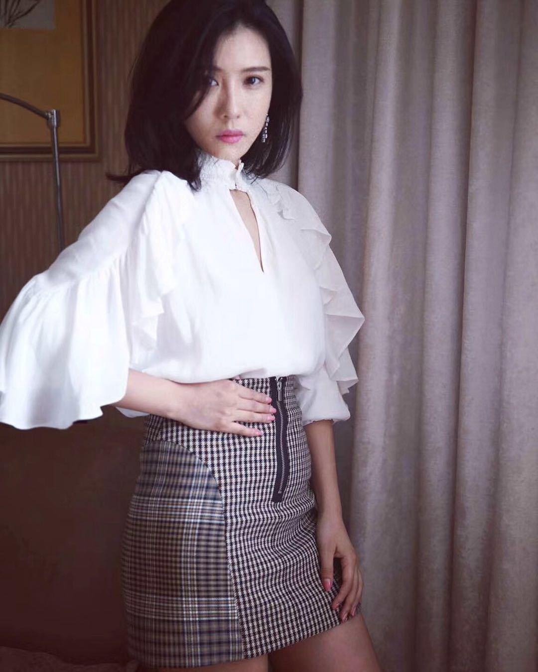 17 Court Wind Level Ganhe On The Edge Of The Leaf Clothing Shirt Shiyu Fei Style 7133