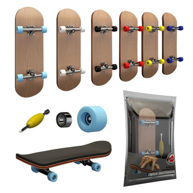 Профессиональный Кленовый Скейтборд 6 цветов, веселая деревянная доска для пальцев, игрушечная доска для пальцев, новый подарок