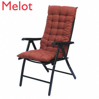 Recliner Lazy Folding Chair with Cotton Pad Home Computer Chairs  Office Durable Lunch Break Bed Camping Chair - DISCOUNT ITEM  0 OFF All Category