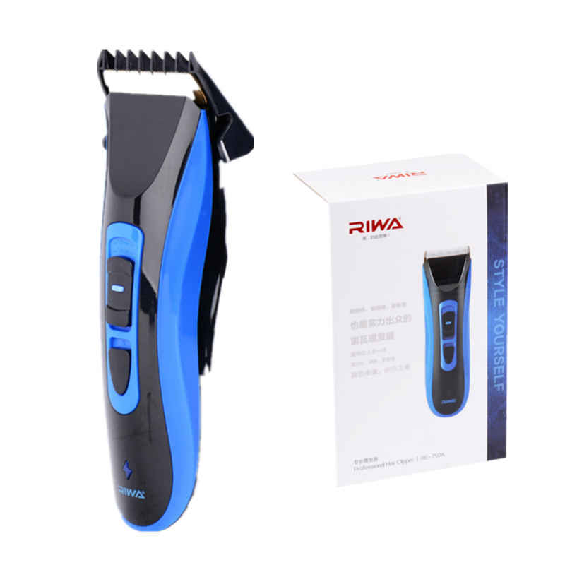 RIWA Electric Hair Clipper Rechargeable Razor Professional Hair Trimmer With Blade Brash Comb Waterproof For Men Barber Machine