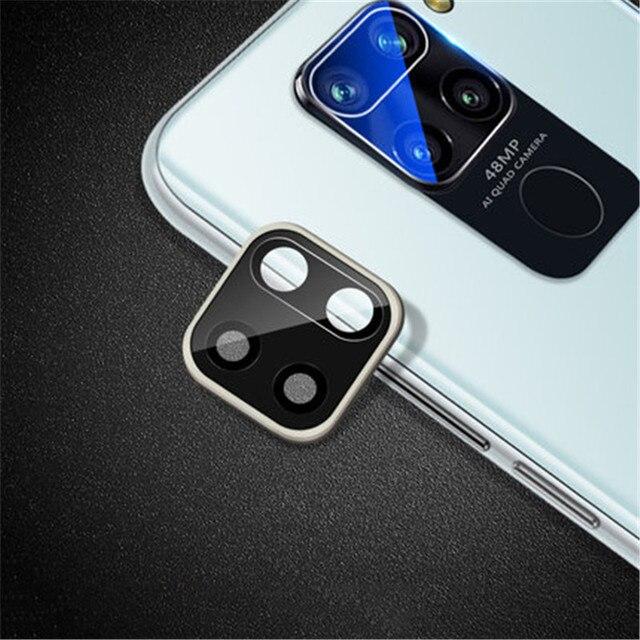 Metal Camera Lens Cover For Xiaomi Redmi Note 9s 9 Pro Max 10 pro Full Cover Protective Glass For Xiaomi Redmi 10X 5G mi 10 lite 5