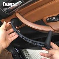 Novo carro à direita esquerda painel da porta interna alça puxar guarnição capa acessórios interiores automóvel para bmw e70 x5 e71 e72 x6 sav 2007-2013