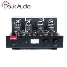 Douk אודיו Hi end Bluetooth סטריאו משולב KT88 שכיבות למשוך ואקום צינור מגבר HiFi אוזניות Amp