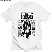 Модная новинка Мужская футболка с короткими рукавами из чистого