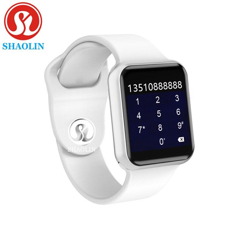 Série 4 Smartwatch para Apple 42mm Passometer Inteligente Relógios de Fitness Rastreador Atividade Pulseira Sensor de Ritmo Cardíaco (Botão Vermelho)