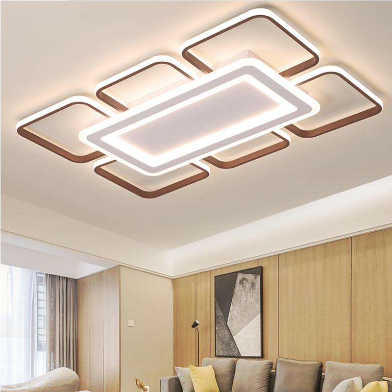 Modern LED Ceiling Light With Remote Control For Living Room Bedroom Dining Room Surface Mounted plafonnier Ceiling Lamp Fixture