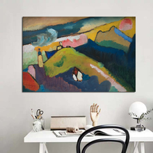 Abstract Landscape Canvas Poster Nordic Decorative Picture Painting Modern Wall Art Home Decor Prints