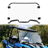 New UTV Full Screen Glass Windscreen Windshield for Polaris RZR XP 1000 / XP 4 1000 2019 2020 Heavy Duty Clear Non Scratch