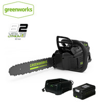 New Arrival GreenWorks Pro GCS180 82V 18-Inch Cordless Chainsaw 5Ah Li-Ion Battery Charger Included Free Return(China)