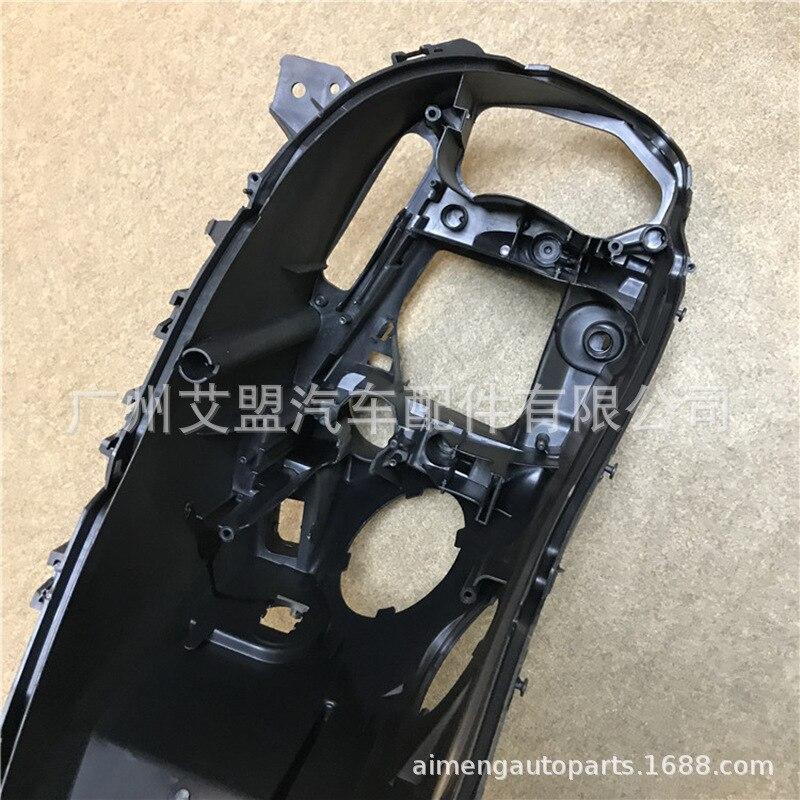 Fatto per BMW sette serie posteriore del faro shell 0915 BMW7 serie faro base F01F02 in plastica nera shell alloggiamento del faro - 2