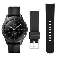 Cinturino 22/20mm per Samsung Galaxy Watch 3 45mm 41mm attivo 2 44/46mm cinturino cinturino in Silicone correa Huawei watch GT 2e cinturino