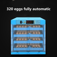 Automatic Intelligent Egg Incubator Hatcher Chicken Incubator Duck Goose Bird Hatching Box Mini Incubator Couveuse