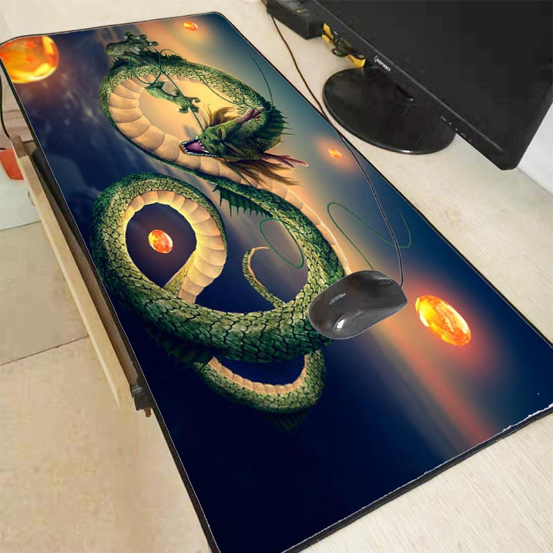 Mairuige Anime Dragon Ball Z Mouse Pad Gamer Play Mats Large Gaming Mouse Pad Locking Edge Mouse Mat Keyboard Pad For CSGO  LOL