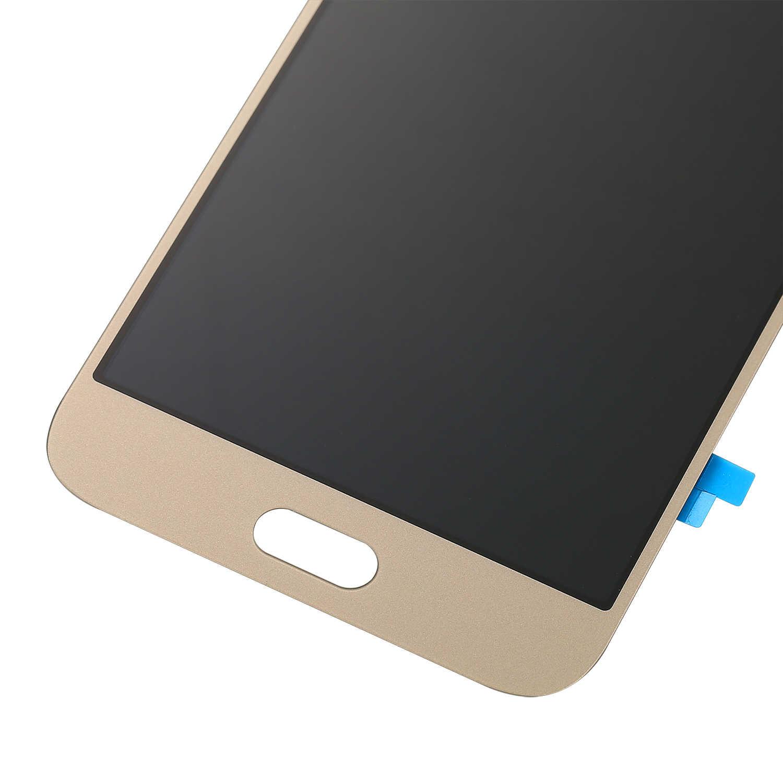 سوبر AMOLED شاشات الكريستال السائل لسامسونج غالاكسي A8 A800 A8000 A800F عالية الجودة عرض مجموعة المحولات الرقمية لشاشة تعمل بلمس قطع الغيار