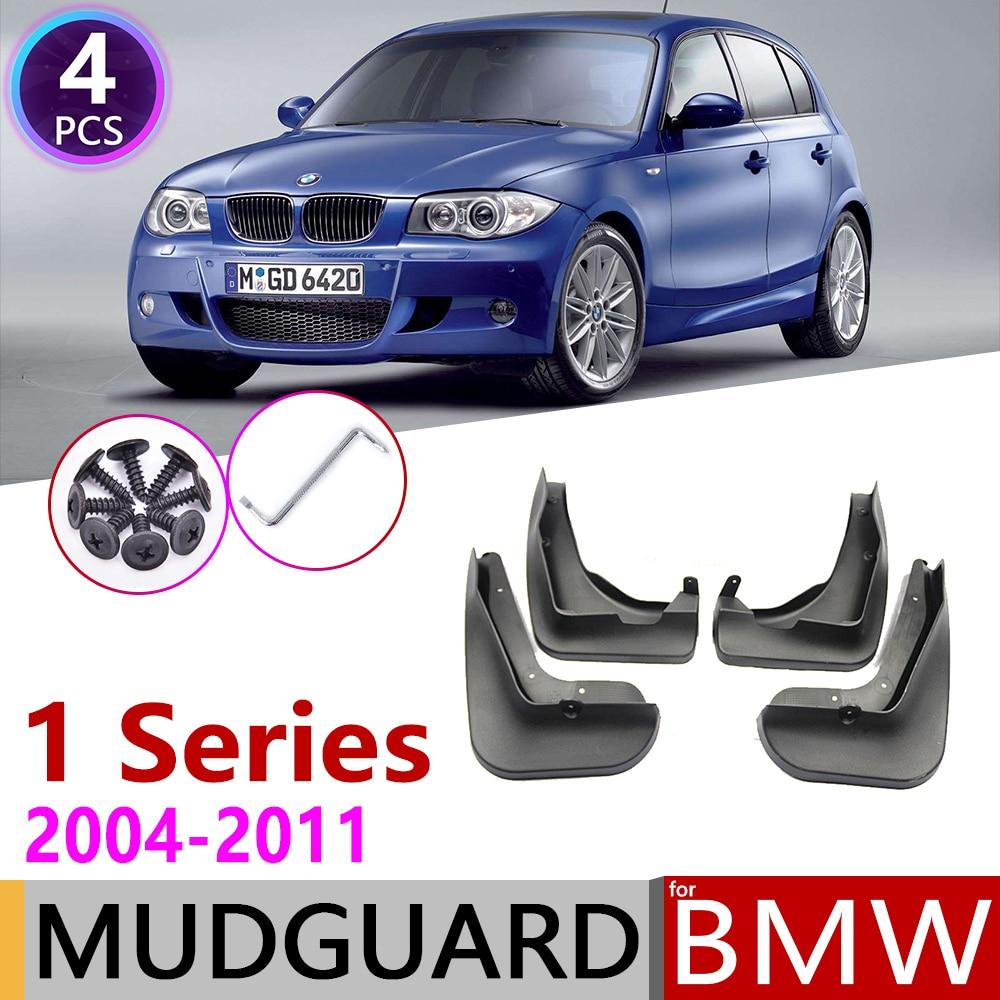 Car Mudflap For BMW 1 Series E81 E87 2004~2011 Fender Mud Guard Splash Flaps Mudguards Accessories 2005 2006 2007 2008 2009 2010