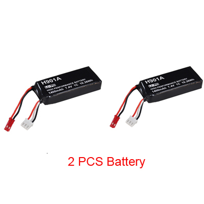 Original 7.4V 1400mAh Lipo Battery For Hubsan HT011A Transmitter Remote Controller <font><b>H501A</b></font> H501M Drone H901A Battery image